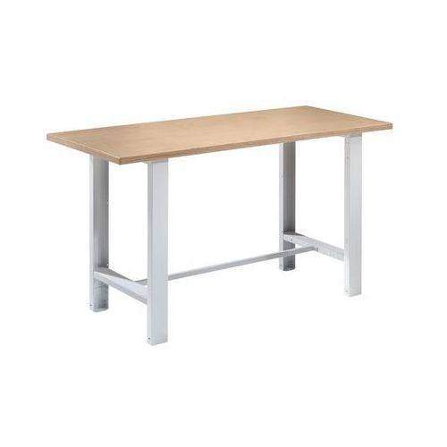 Quipo Stół warsztatowy,szer. blatu 1500 mm, model podstawowy