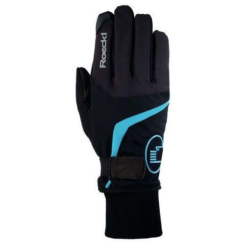 Roeckl reggello gtx rękawiczka rowerowa niebieski/czarny 11 2017 rękawiczki zimowe