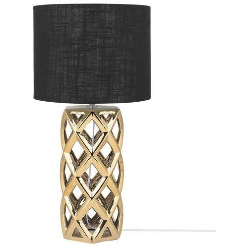 Lampa stołowa złota 71 cm SELJA