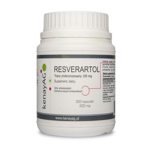 Resweratrol trans - zmikronizowany 100 mg (300 kapsułek)