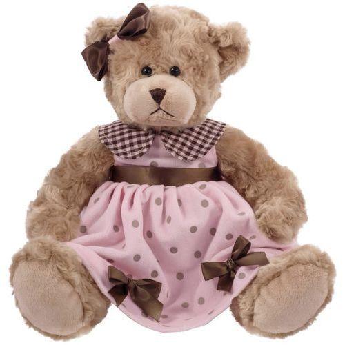 Beppe Misia daizy różowa groszki welur 33 cm (5901703109920)