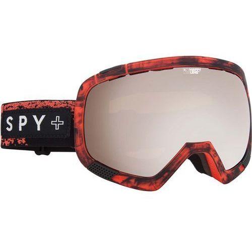 Gogle snowboardowe - platoon red/hap/br (red hap br) marki Spy