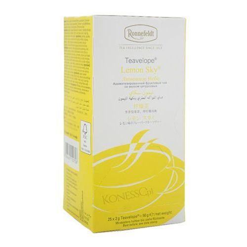 Ronnefeldt Owocowa herbata teavelope lemon sky 25x2g (4006465150706)