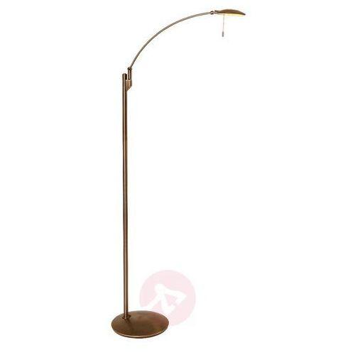 Steinhauer zenith lampa stojąca led brązowy, 1-punktowy - nowoczesny/klasyczny - obszar wewnętrzny - zenith - czas dostawy: od 6-10 dni roboczych (8712746113433)