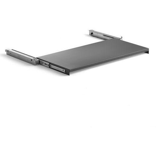 Wysuwana półka do szafy supply, 875x455 mm, ciemnoszary marki Aj produkty