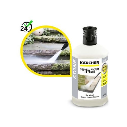 Karcher Środek czyszczący (1l) do kamienia 3w1, #sklep specjalistyczny #karta 0zł #pobranie 0zł #zwrot 30dni #raty 0% #gwarancja d2d #leasing #wejdź i kup najtaniej