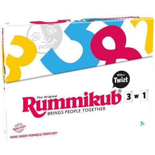 GRA RUMMIKUB TWIST 3w1 3 RODZAJE JOKERÓW NOWOŚĆ, 9159
