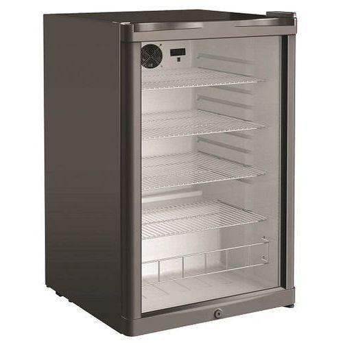 Szafa chłodnicza przeszklona   130l   540x550x(h)845mm marki Resto quality