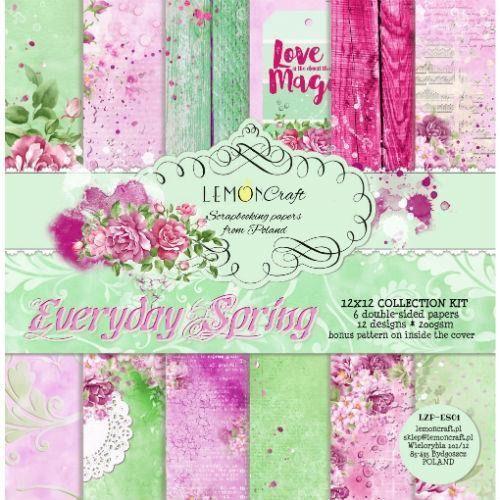 Creativehobby Ozdobny papier 30x30 cm - everyday spring - zestaw