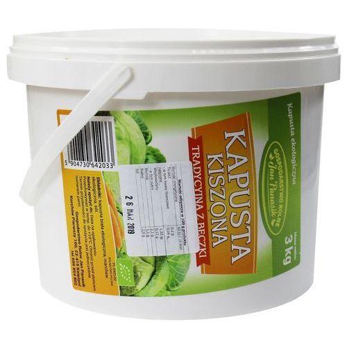 Kapusta kiszona bio 3 kg (wiadro) - jan panasik marki Jan panasik (kapusta kiszona)