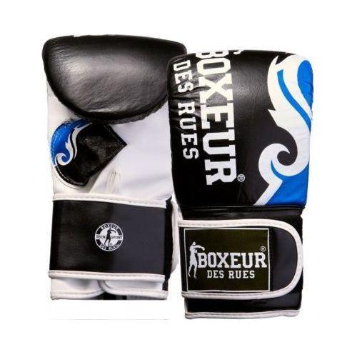 Boxeur Rękawice bokserskie bxt-5139 (rozmiar s) czarno-niebieski (8058660514100)