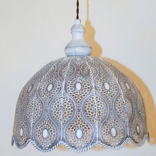 Eglo 49717 - Lampa wisząca TALBOT 2 1xE27/60W, kolor biały,