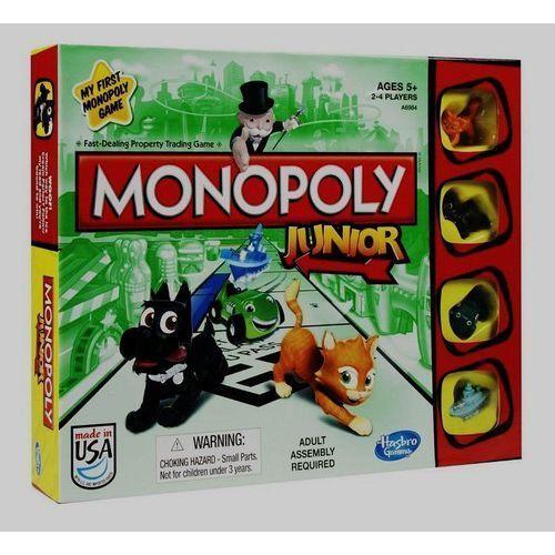 OKAZJA - Hasbro Monopoly junior (nowe wydanie) (5010994773663)