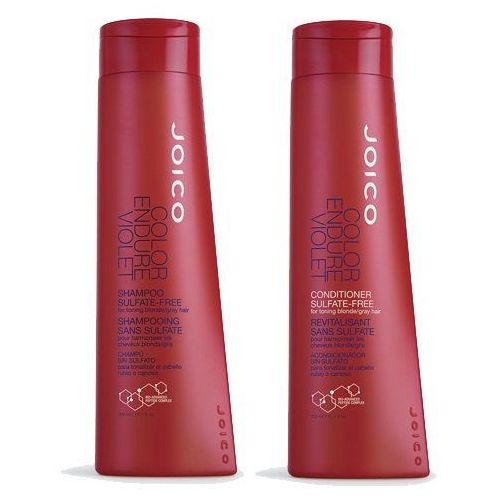 Joico Color Endure Violet Zestaw do włosów blond i siwych | szampon 300ml + odżywka 300ml (0744694191544)