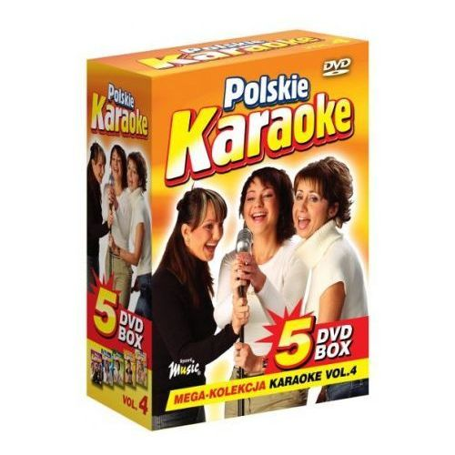 Ryszard music Polskie karaoke vol. 4 - mega kolekcja karaoke (5 płyt dvd)