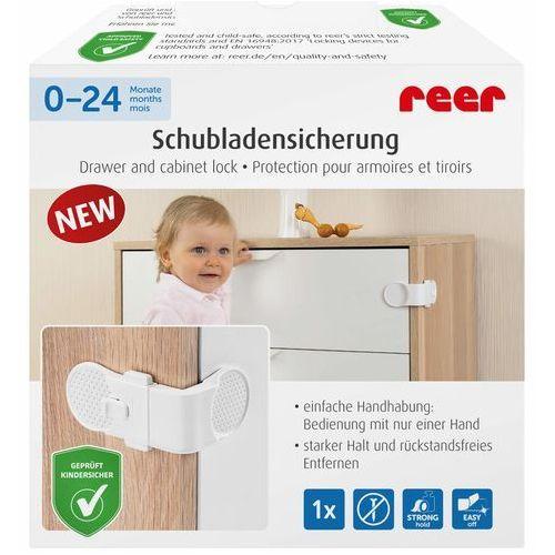 Zabezpieczenie szuflad kątowe przyklejane 3M REER