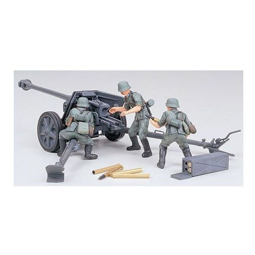 german 75mm anti tank gun - tamiya marki Tamiya