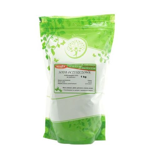 OKAZJA - Soda oczyszczona spożywcza wodorowęglan sodu 1kg AGNEX