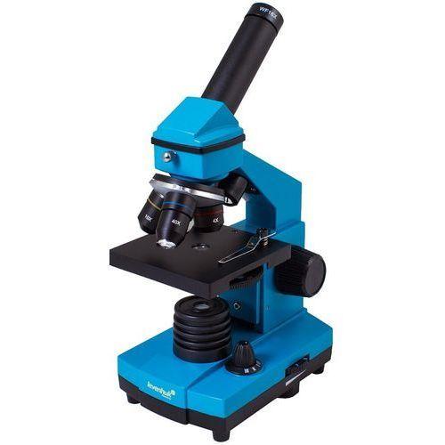 Levenhuk Mikroskop rainbow 2l plus lazurowy + zamów z dostawą w poniedziałek! + darmowy transport!