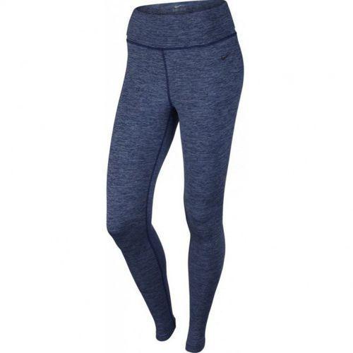 Nike Spodnie treningowe  legend poly tight spacedye w 725007-451