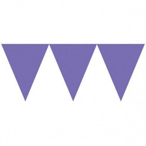 Amscan Baner papierowy 450 cm purpurowy