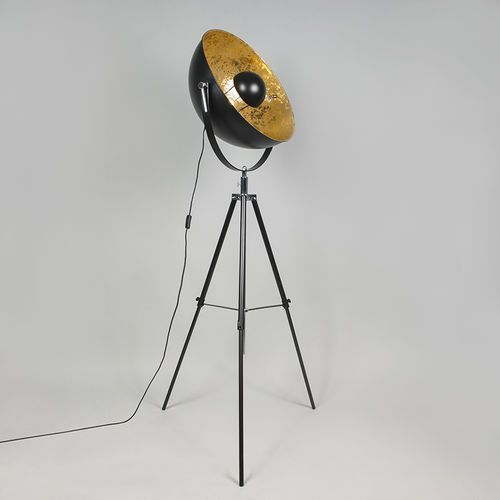 Lampa podlogowa magna matowy czarny marki Qazqa