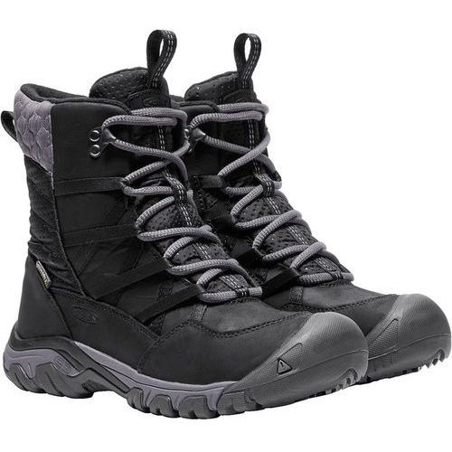 hoodoo iii lace up buty kobiety czarny 37 2017 buty casualowe marki Keen