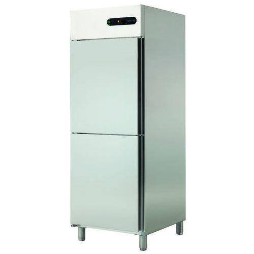 Szafa chłodnicza 2-drzwiowa lewostronna 700 l, 693x826x2008 mm | ASBER, ECP-702 L