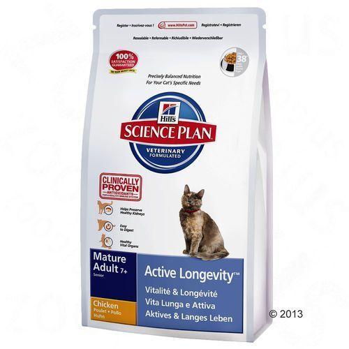 Dwupak Hills Feline - Mature Adult 7+ Active Longevity, kurczak, 2 x 10 kg, kup u jednego z partnerów