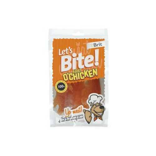 Brit Let's Bite Fillet Chicken 400g