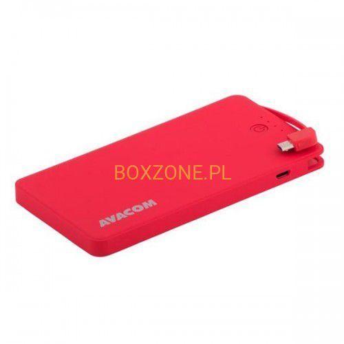 Powerbank  pwrb-4000r czerwony darmowy odbiór w 21 miastach! marki Avacom