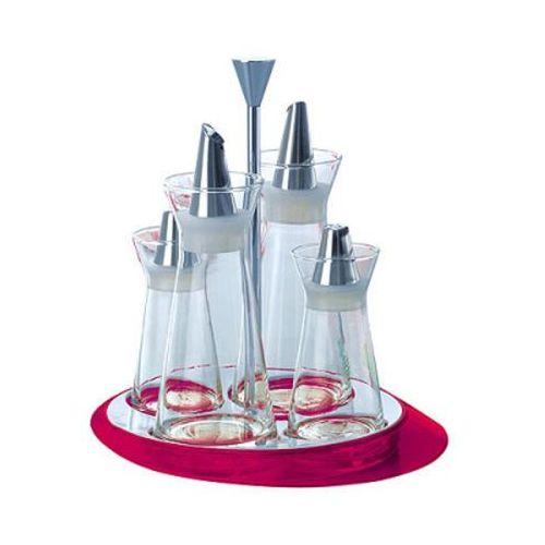 - glamour - zestaw do przypraw - fioletowy - fioletowy marki Casa bugatti