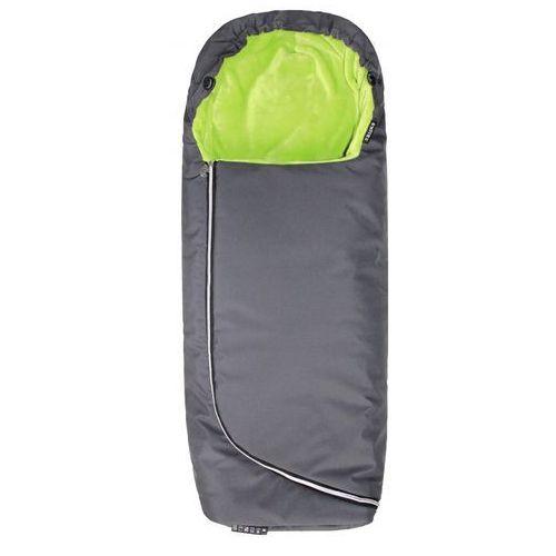 Emitex śpiworek do wózka ALPINO - szary + limonkowy (8595624429150)