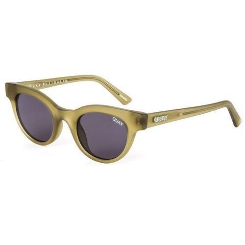 Quay australia Okulary słoneczne qc-000214 quayxkylie star struck olive/smk