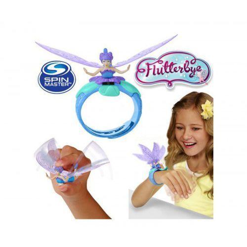 Flutterbye latająca wróżka magiczna bransoletka niebieska, marki Spin master
