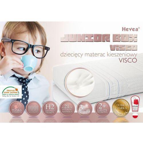 Hevea Materac kieszeniowy junior box visco 180x80 (5901602101919). Najniższe ceny, najlepsze promocje w sklepach, opinie.