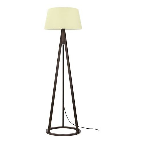 Spot light konan 6422976 lampa podłogowa stojąca 1x60w e27 orzech / kremowy