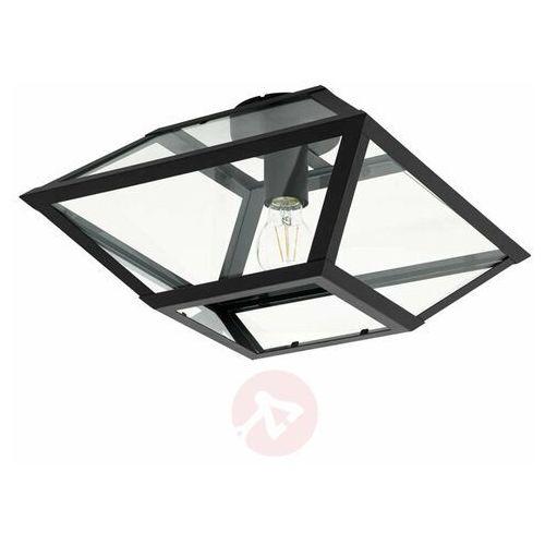 Eglo Casefabre 98356 plafon lampa sufitowa oprawa 1x60W E27 czarna