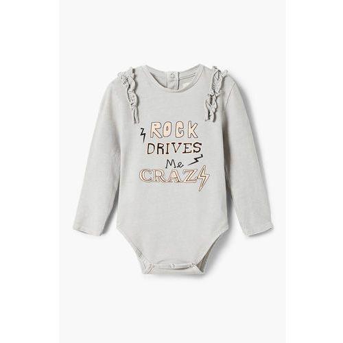 Mango Kids - Body niemowlęce Rock 80-104 cm