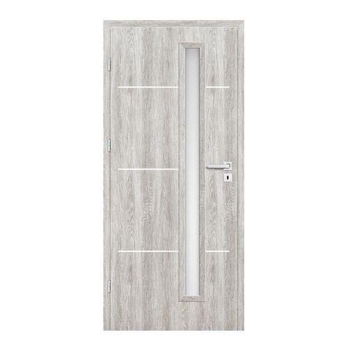 Drzwi pokojowe Nodo 90 lewe jesion szary (5903292058924)