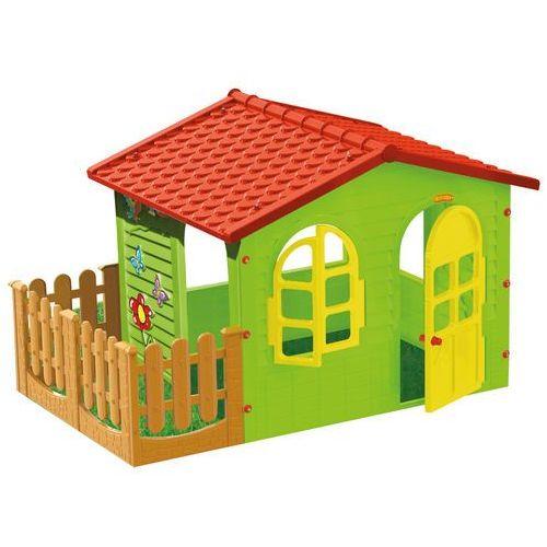 Mochtoys domek ogrodowy z płotkiem 10498