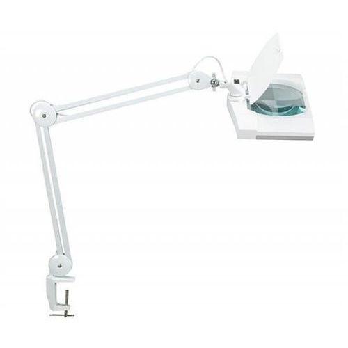 Maul Lampka led z lupą na biurko vitrum, 7w, mocowana zaciskiem, biała