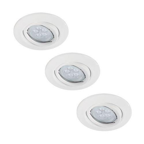 Paulmann 92029 - ZESTAW 3x LED oprawa wpuszczana QUALITY LINE 3xGU10-LED/6,5W (4000870920299)