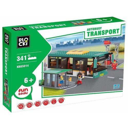 Klocki Blocki Transport Autobusy 341 elementów