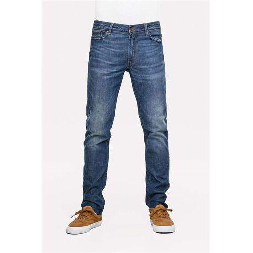 Spodnie - spider dark vintage tint (dark vintage tint) rozmiar: 34/32, Reell
