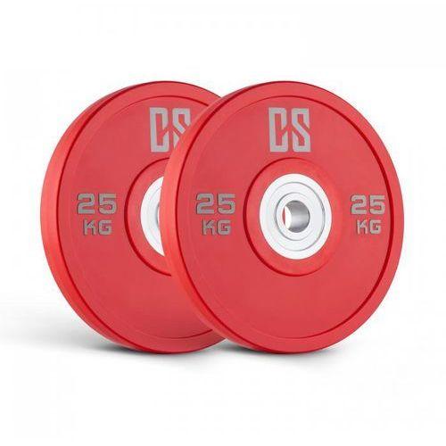 Capital Sports Performan Urethane Plates obciążenie para 25kg czerwone