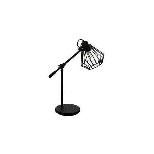Eglo Tabillano 1 99019 lampa stołowa lampka 1x40W E27 czarna