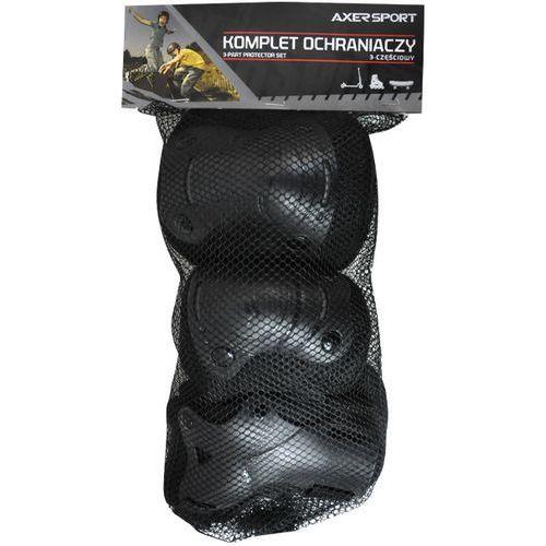 Ochraniacze AXER SPORT Junior A23396 Czarny (S/M) (5901780923396)