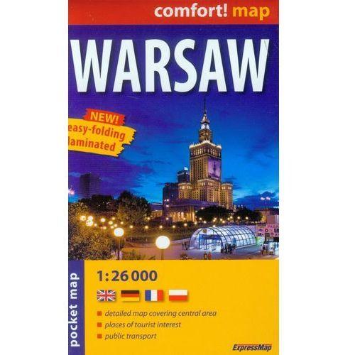 Warsaw pocket map 1:26 000 - DODATKOWO 10% RABATU i WYSYŁKA 24H!, oprawa miękka
