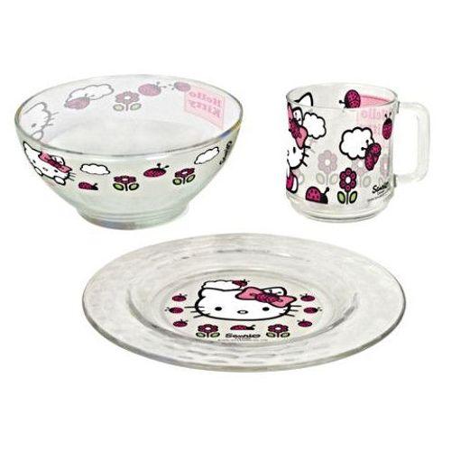 Zestaw Śniadaniowy - Hello Kitty